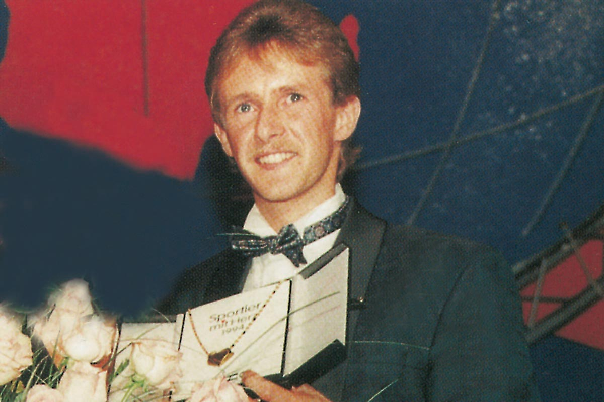Sportler mit Herz 1995 – Jens Weißflog