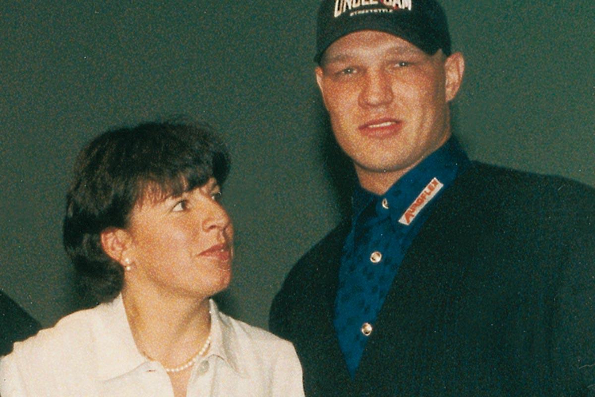 Sportler mit Herz 1996 / 1997 –  Vreni Schneider und Axel Schulz