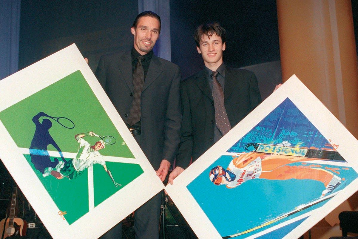 Sportler mit Herz 1999 – Michael Stich und Martin Schmitt