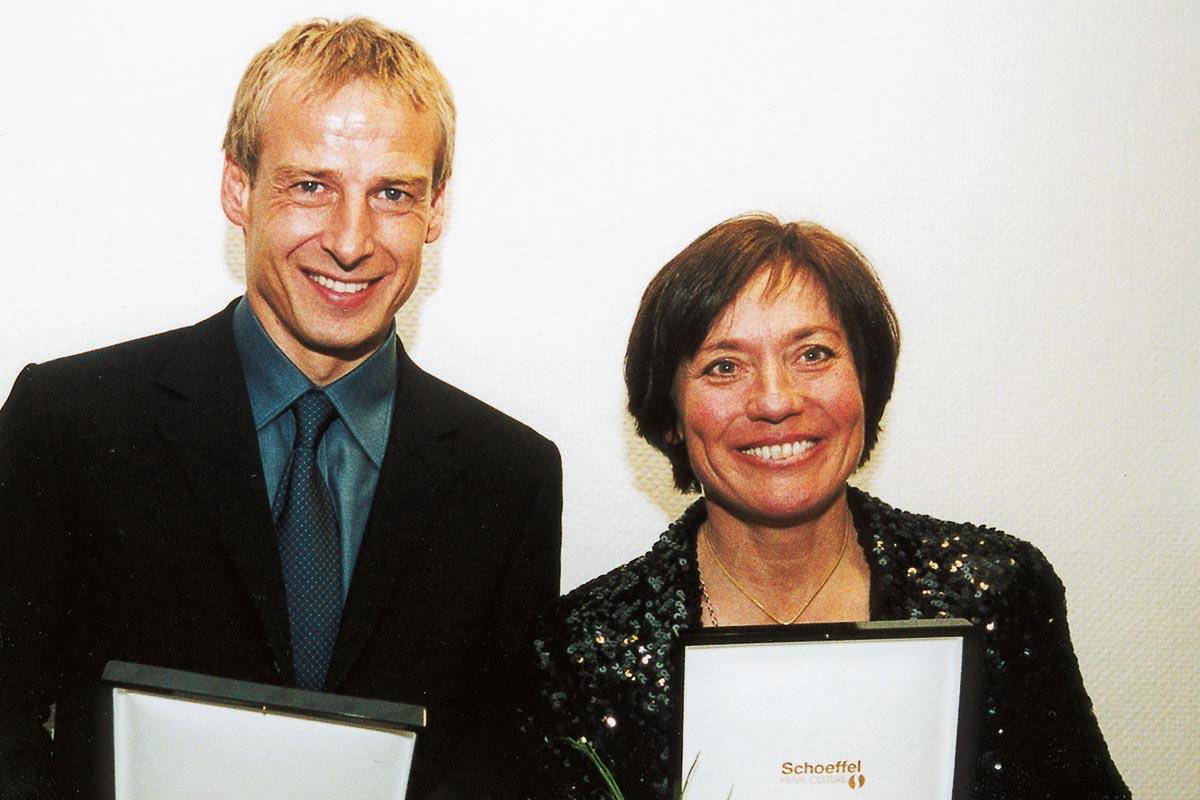 Sportler mit Herz 2000 – Jürgen Klinsmann und Rosi Mittermaier