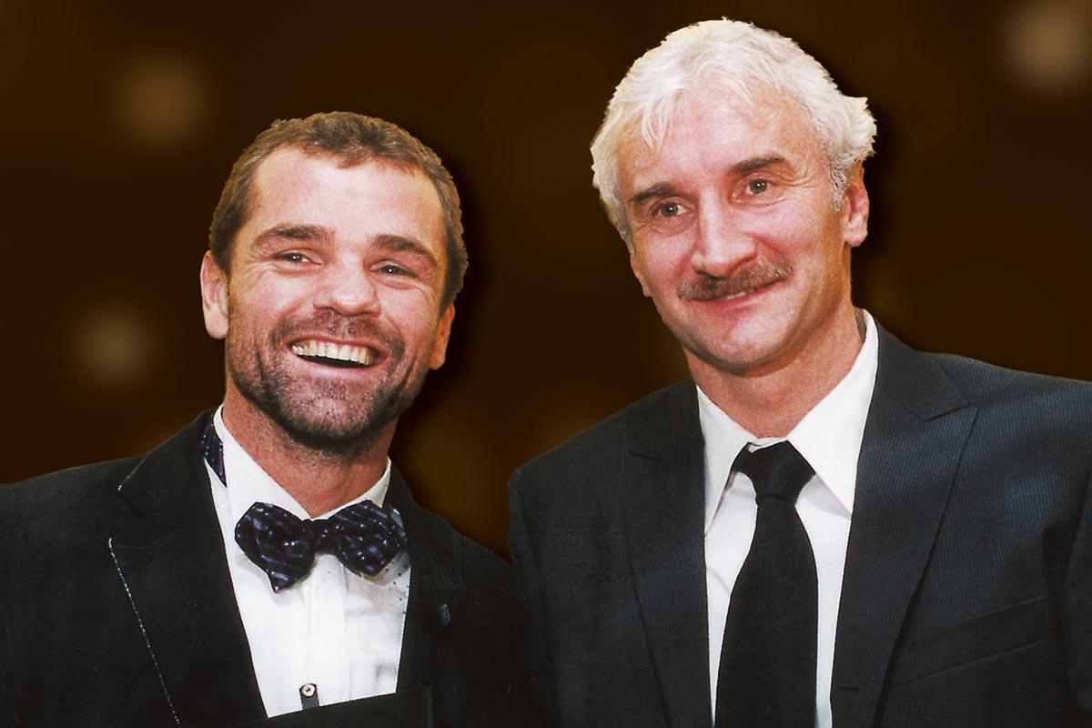 Sportler mit Herz 2002 – Sven Ottke und Rudi Völler