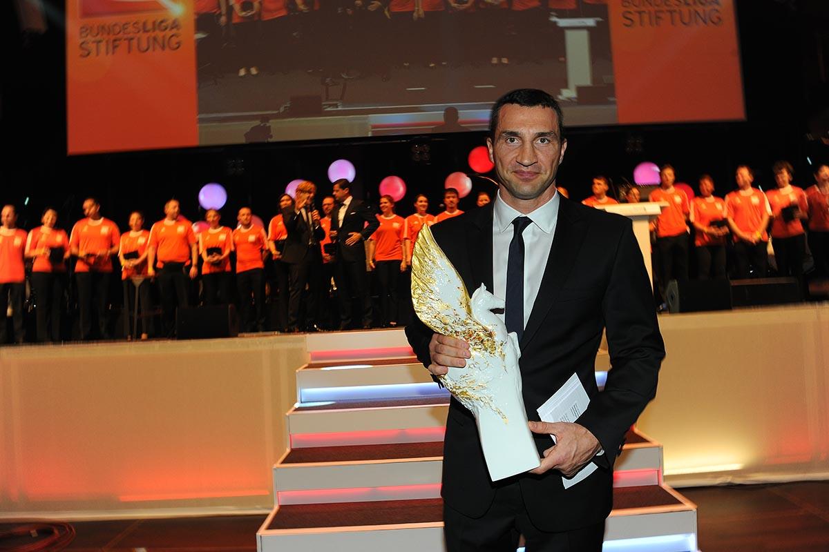 Sportler mit Herz 2011: Vitali und Wladimir Klitschko
