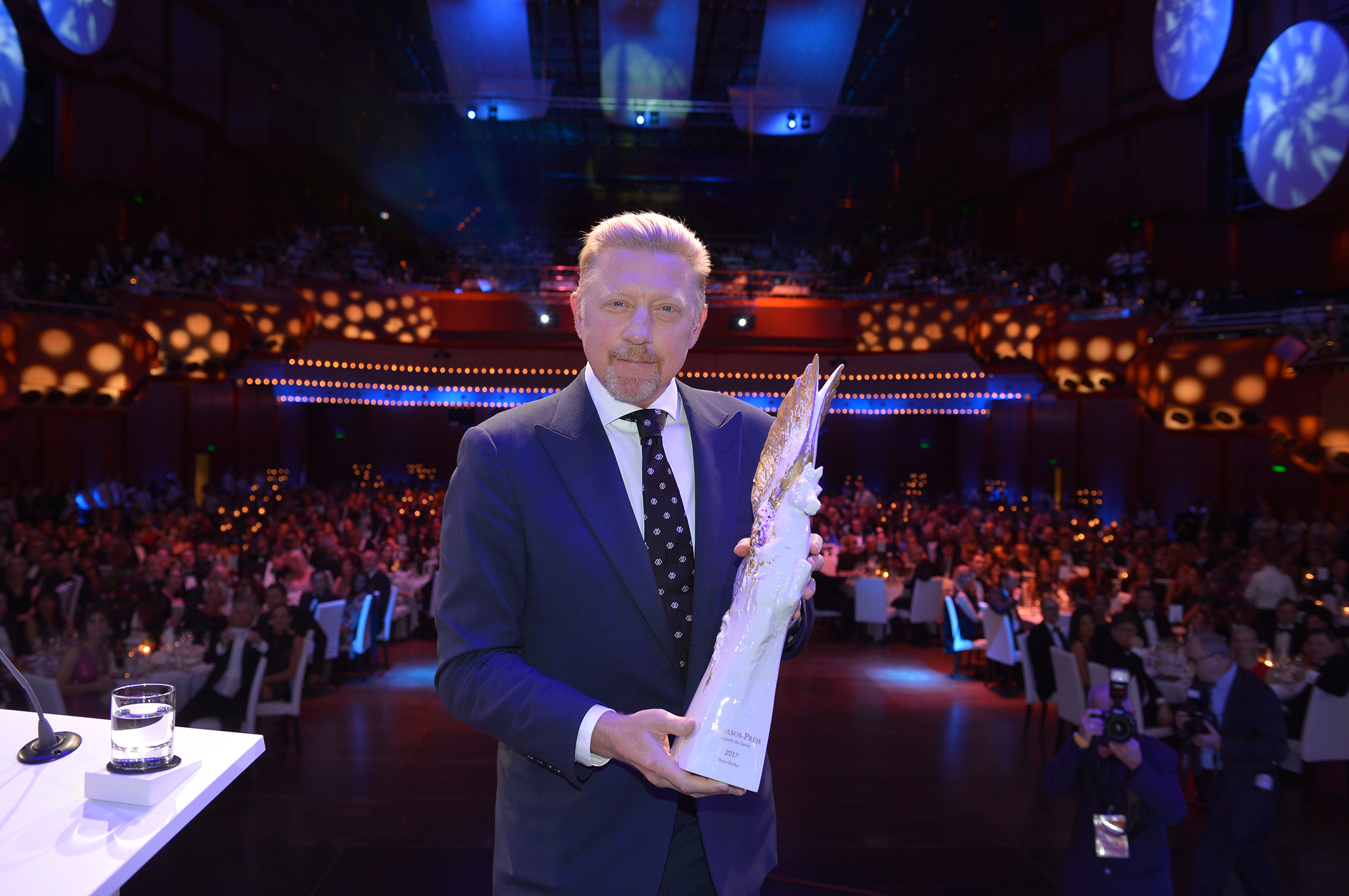 Deutscher SportpresseBall 2017: Boris Becker